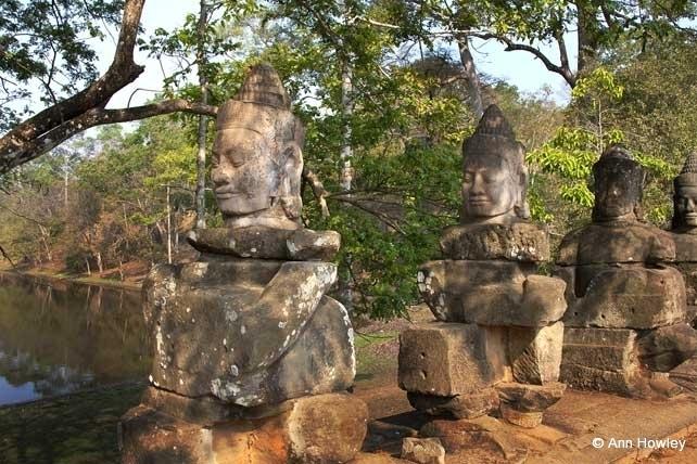 Angkor Thom Entry, Cambodia