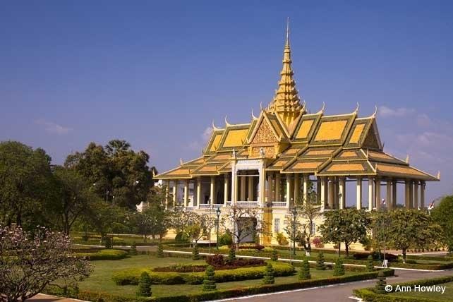 Phnom Penh Palace, Cambodia