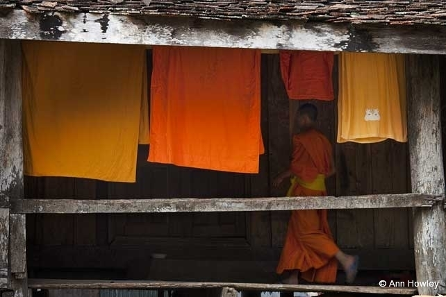 Monk Laundry, Laos