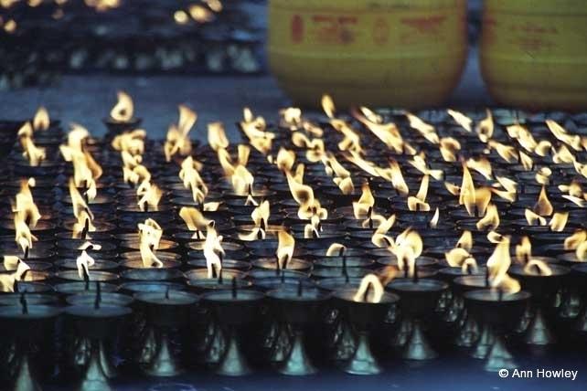 Butter Candles, Nepal