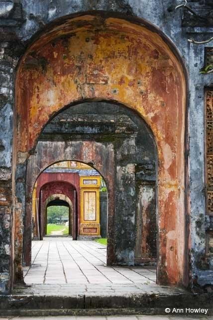 Citadel Arches, Hue, Vietnam