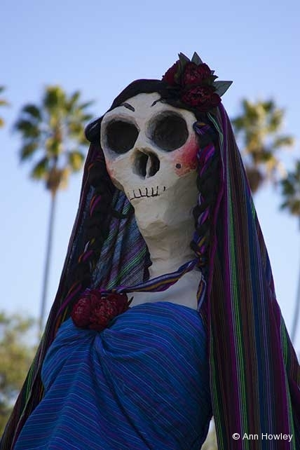 Skeleton #3, Day of the Dead, Hollywood Forever Cemetery, Los Angeles, CA