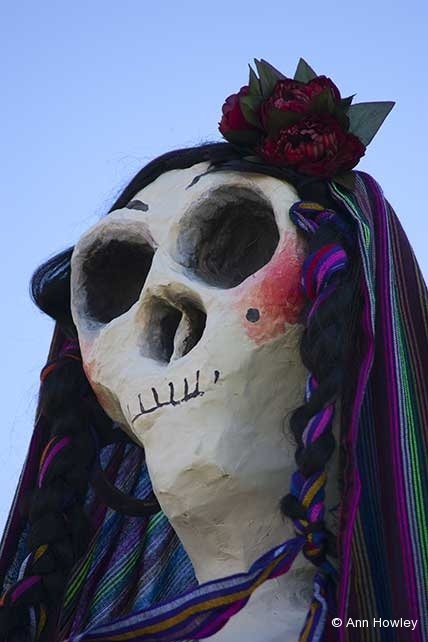 Skeleton #4, Day of the Dead, Hollywood Forever Cemetery, Los Angeles, CA