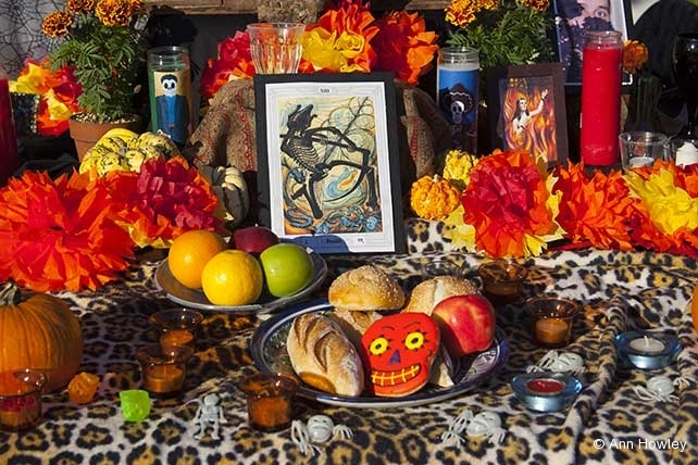 Altar #2, Day of the Dead, Hollywood Forever Cemetery, Los Angeles, CA