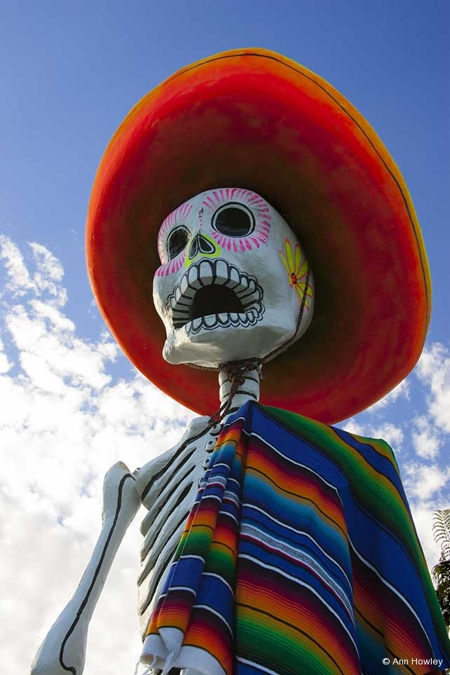 Skeleton #2, Day of the Dead, Hollywood Forever Cemetery, Los Angeles, CA