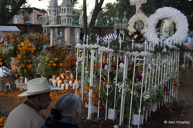 Mexico Altar #1, Day of the Dead, Tzintzuntzan, Michaocan, Mexico