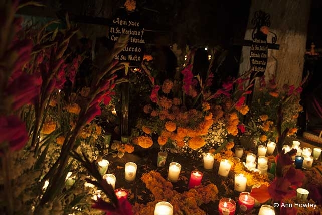 Mexico Altar #9, Day of the Dead, Tzintzuntzan, Michaocan, Mexico