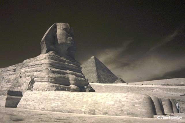 Sphinx Infrared, Egypt