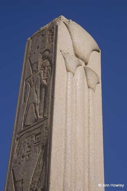Obelisk, Temple Of Karnak, Egypt