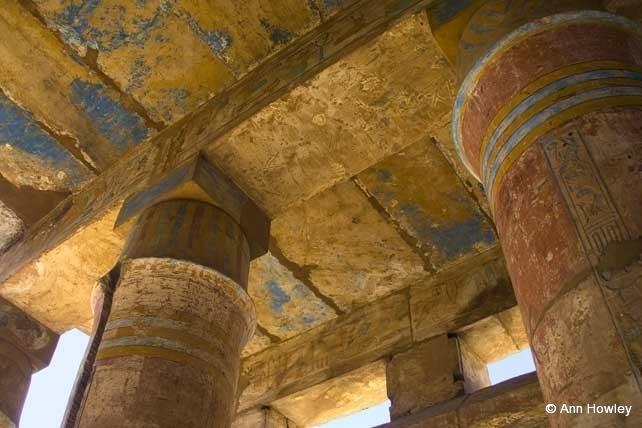 Pillars, Temple Of Karnak, Egypt
