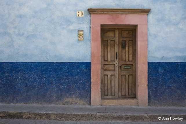 Blue Door #1, Mexico