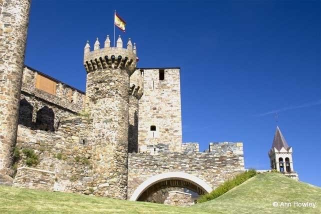 Castlillo De Los Templarios, Ponferrada, Spain