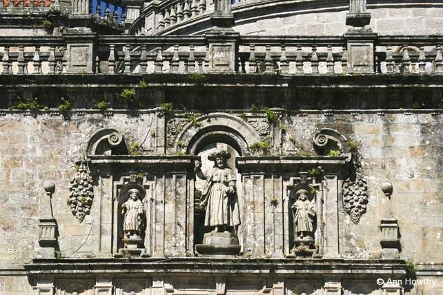Santiago Cathedral Detail #1, Spain
