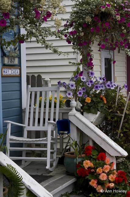 Astoria Porch, Oregon