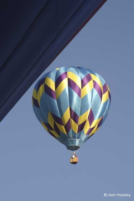 Balloon Rising, Albuquerque, New Mexico